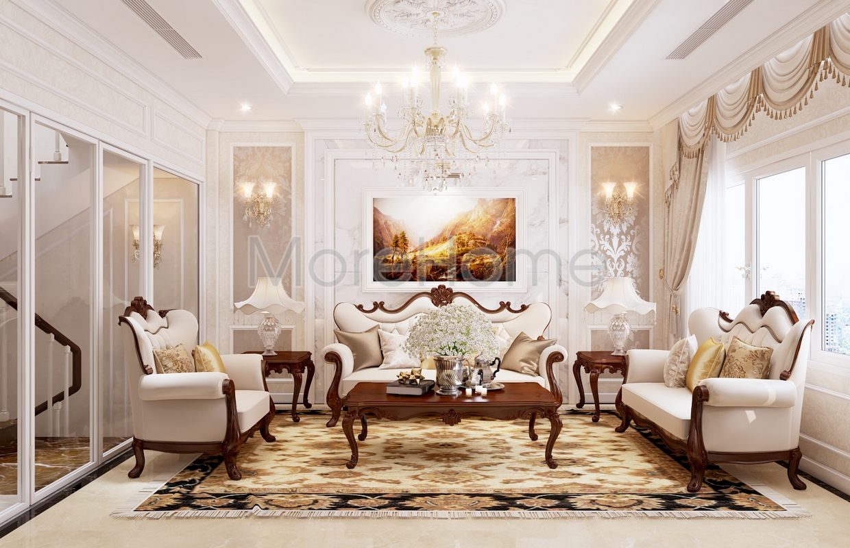 Thiết kế nội thất biệt thự tân cổ điển Tân bình