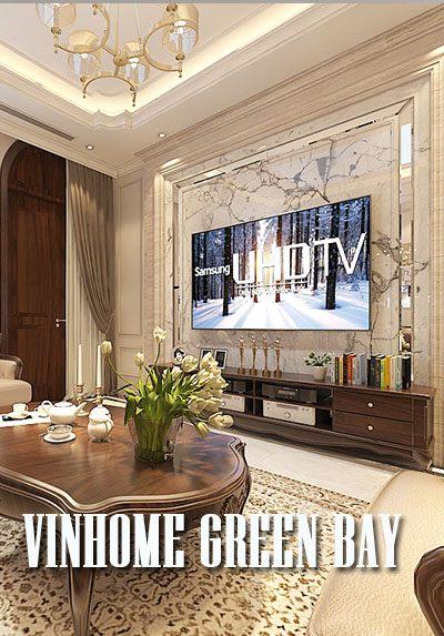 Thiết kế biệt thự cao cấp Vinhomes GreenBay tân cổ điển gỗ tự nhiên