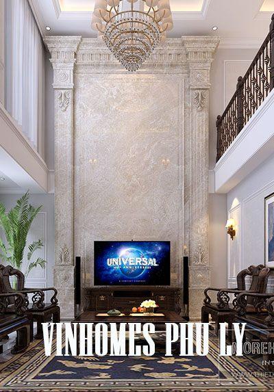 Thiết kế nội thất biệt thự Vinhomes Phú Lý Hà Nam - Anh Toàn