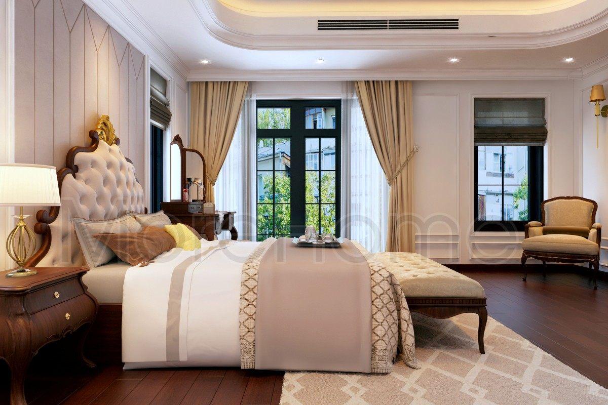 Thiết kế nội thất biết thự tân cổ điển