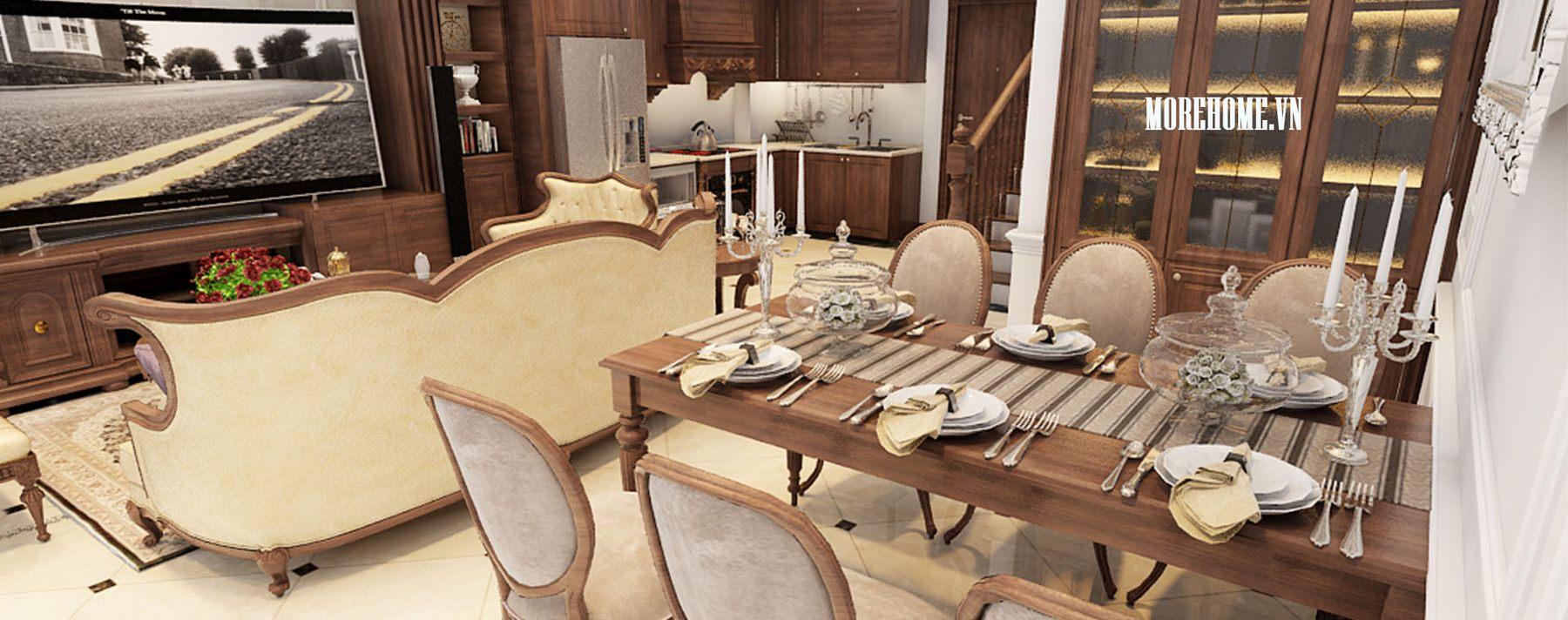 Thiết kế nội thất biệt thự Vinhomes Riverside Long Biên, Hà Nội