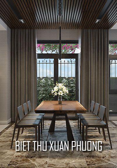 Thiết kế nội thất biệt thự Xuân Phương hiện đại, sang trọng, đẳng cấp