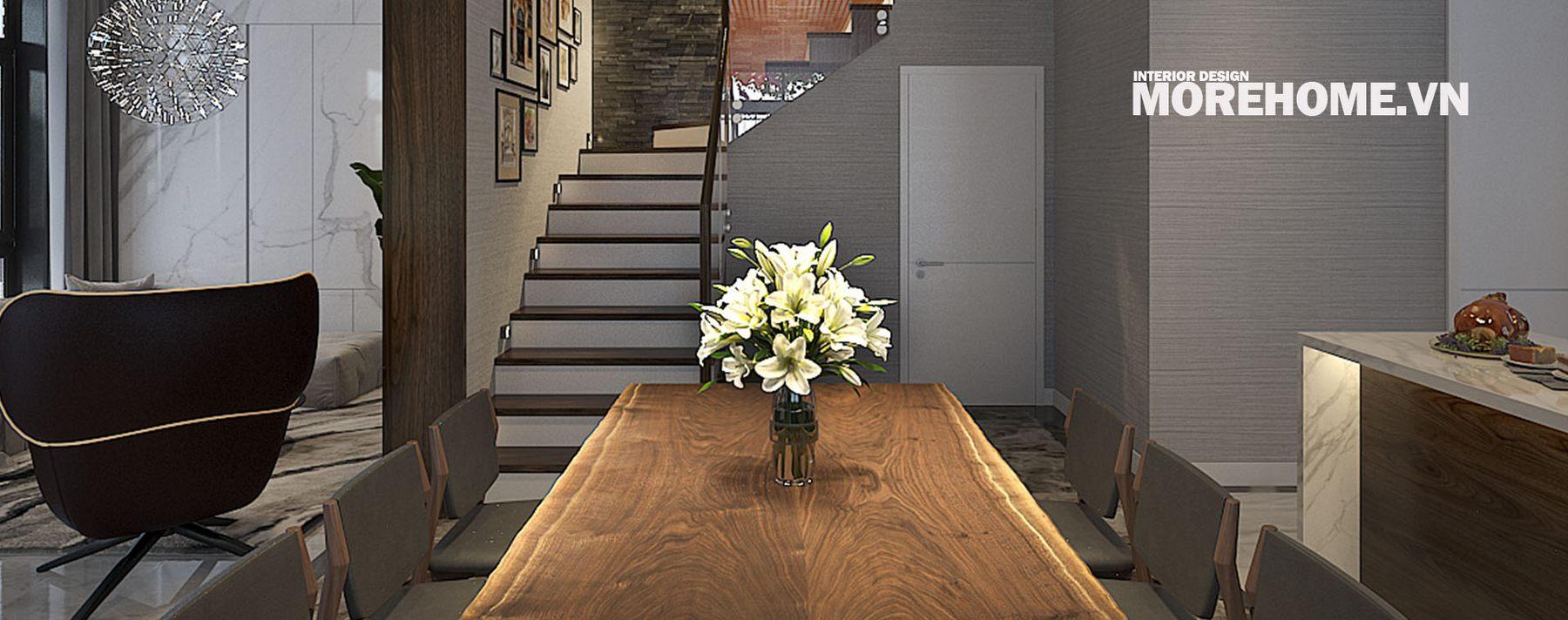 Thiết kế nội thất biệt thự Xuân Phương Nam Từ Liêm