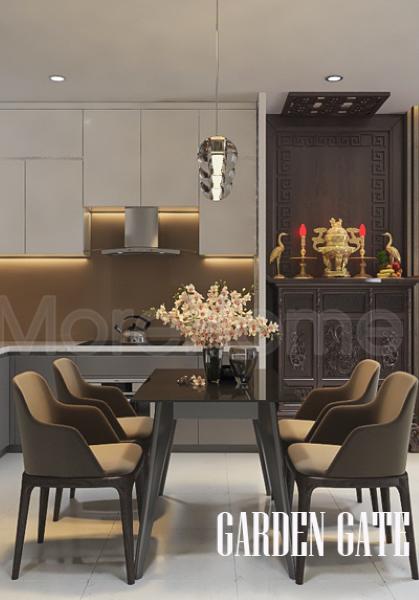 Thiết kế nội thất căn hộ Garden Gate - Quận Phú Nhuận sang trọng