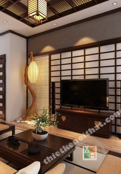 Thiết kế nội thất căn hộ phong cách Nhật Bản