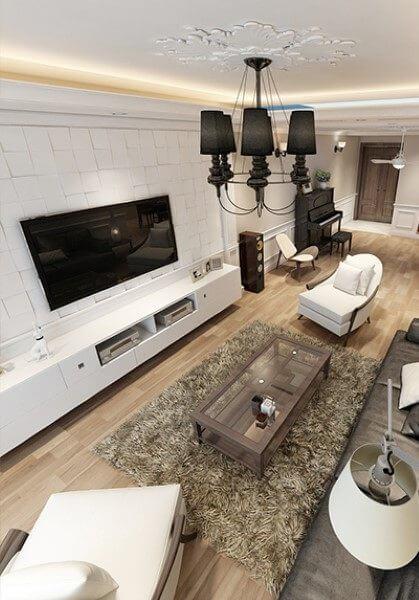 Thiết kế nội thất căn hộ chung cư cao cấp tại Mandarin - Nhà Anh Nguyên