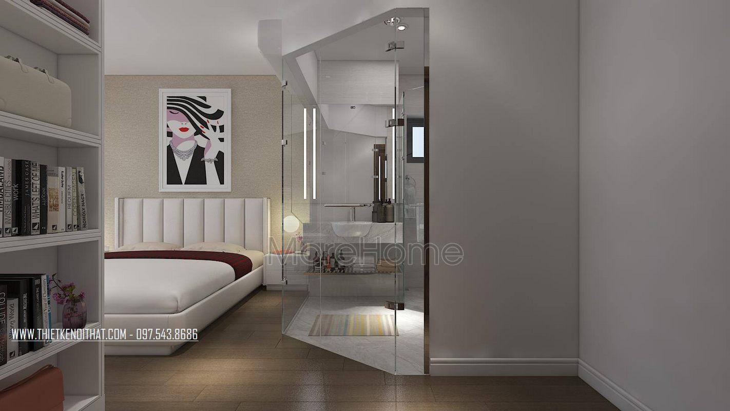 Thiết kế nội thất phòng ngủ chung cư gamuda garden hoàng mai hà nội