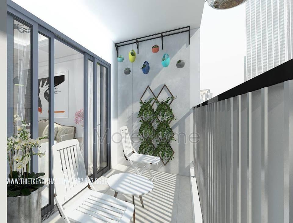 Thiết kế logia chung cư gamuda garden hoàng mai hà nội