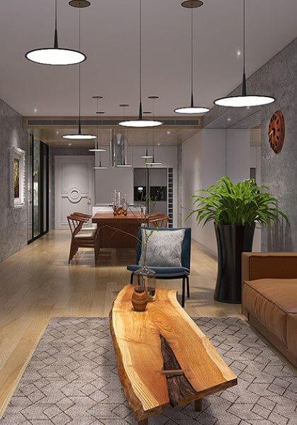 Thiết kế nội thất căn hộ chung cư cao cấp tại Royal City - Chị Hoài