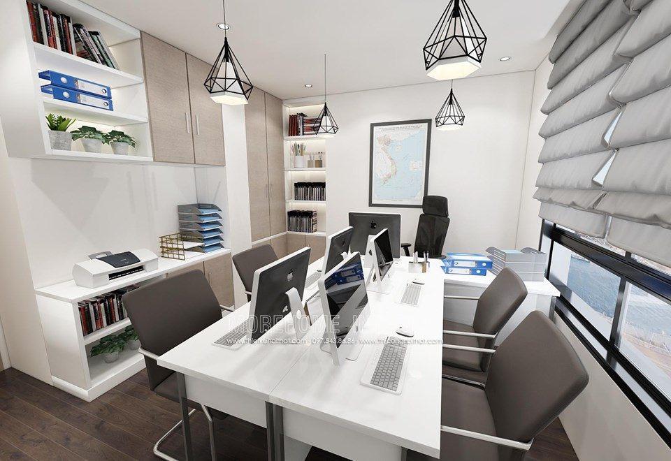 Thiết kế nội thất chung cư kết hợp văn phòng tại imperia sky garden 423 minh khai hai bà trưng hà nội