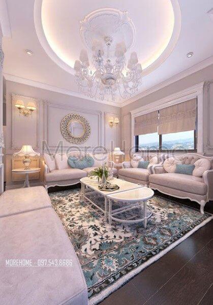 Thiết kế nội thất căn hộ chung cư Ruby Tower - chị Trang
