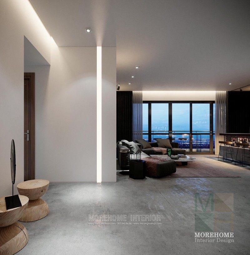 Thiết kế nội thất chung cư hiện đại vinhomes skylake phạm hùng hà nội