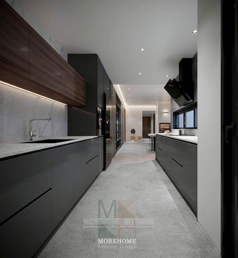 Thiết kế nội thất chung cư hiện đại vinhomes skylake phạm hùng