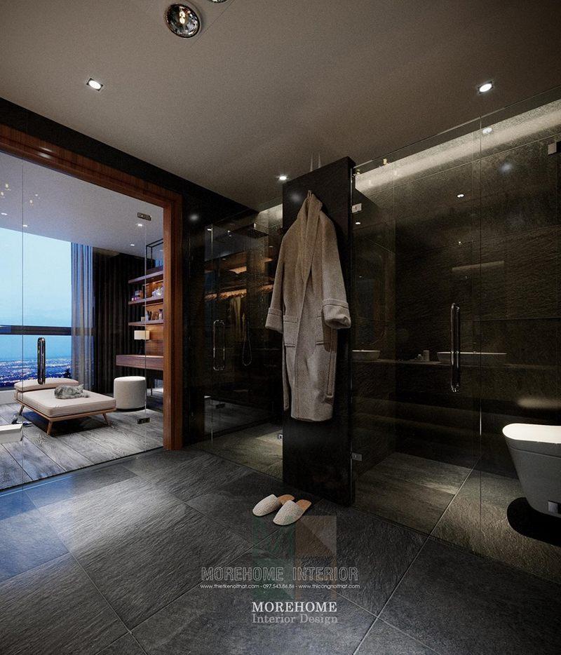 Thiết kế phòng tắm nhà vệ sinh chung cư vinhomes skylake phạm hùng