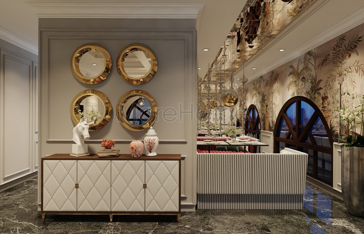 Thiết kế nội thất khách sạn hiện đại