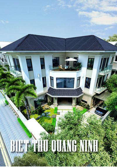 Thiết kế biệt thự tại Móng cái, Quảng Ninh - Anh Long đẹp, cao cấp