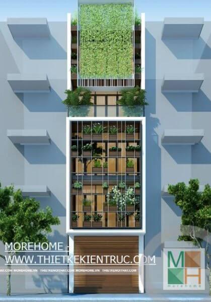 Thiết kế kiến trúc nhà phố hiện đại đẹp tại Xuân La Tây Hồ Hà Nôi - Mr. Thắng.