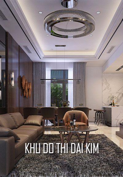 Thiết kế nội thất nhà liền kề khu đô thị Đại Kim - Nhà Anh Tuấn