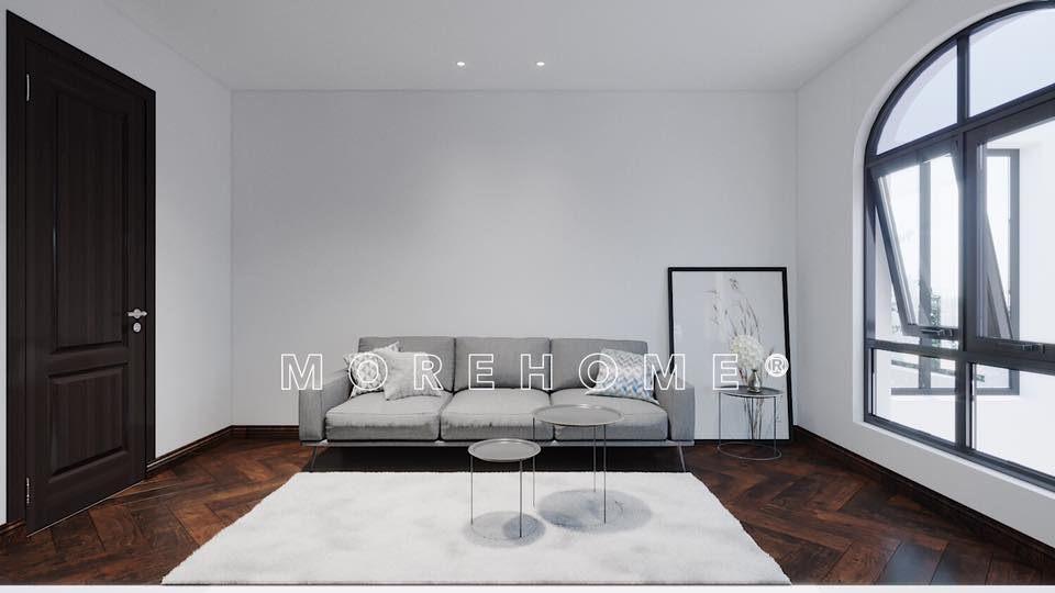 Thiết kế nội thất nhà phong cách á đông