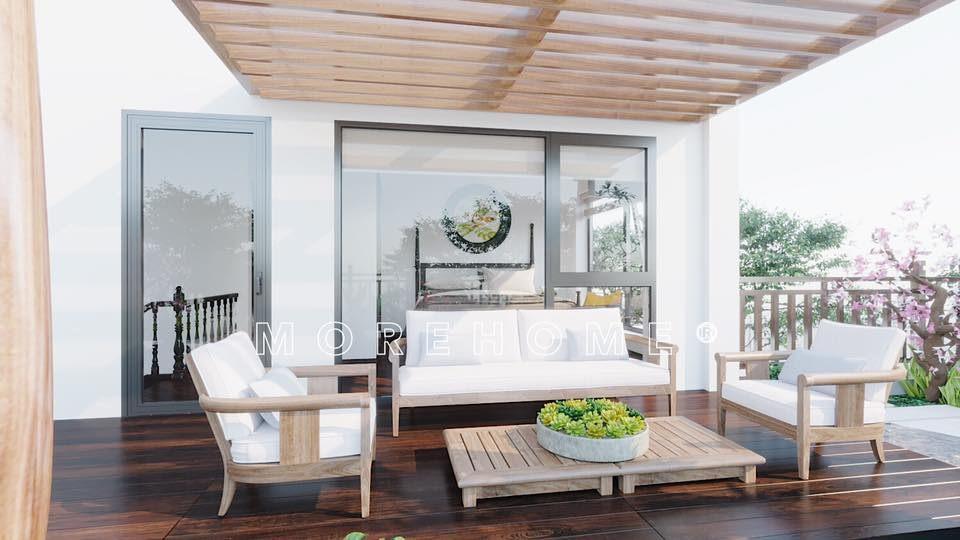 Bộ sofa gỗ phong cách á đông