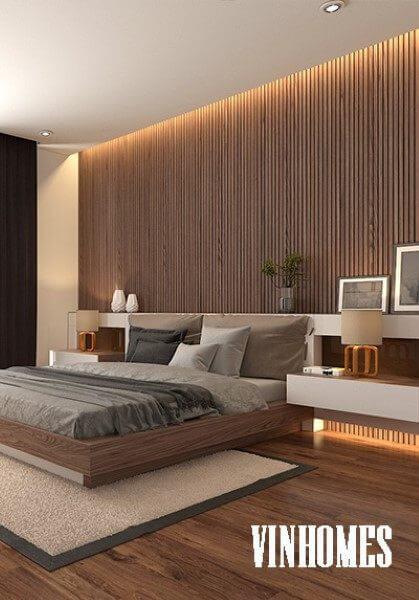 Thiết kế nội thất biệt thự liền kề Vinhomes Thăng Long hiện đại cao cấp
