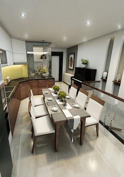 Thiết kế nội thất nhà phố thái hà đẹp - Chị Vân cao cấp, hiện đại