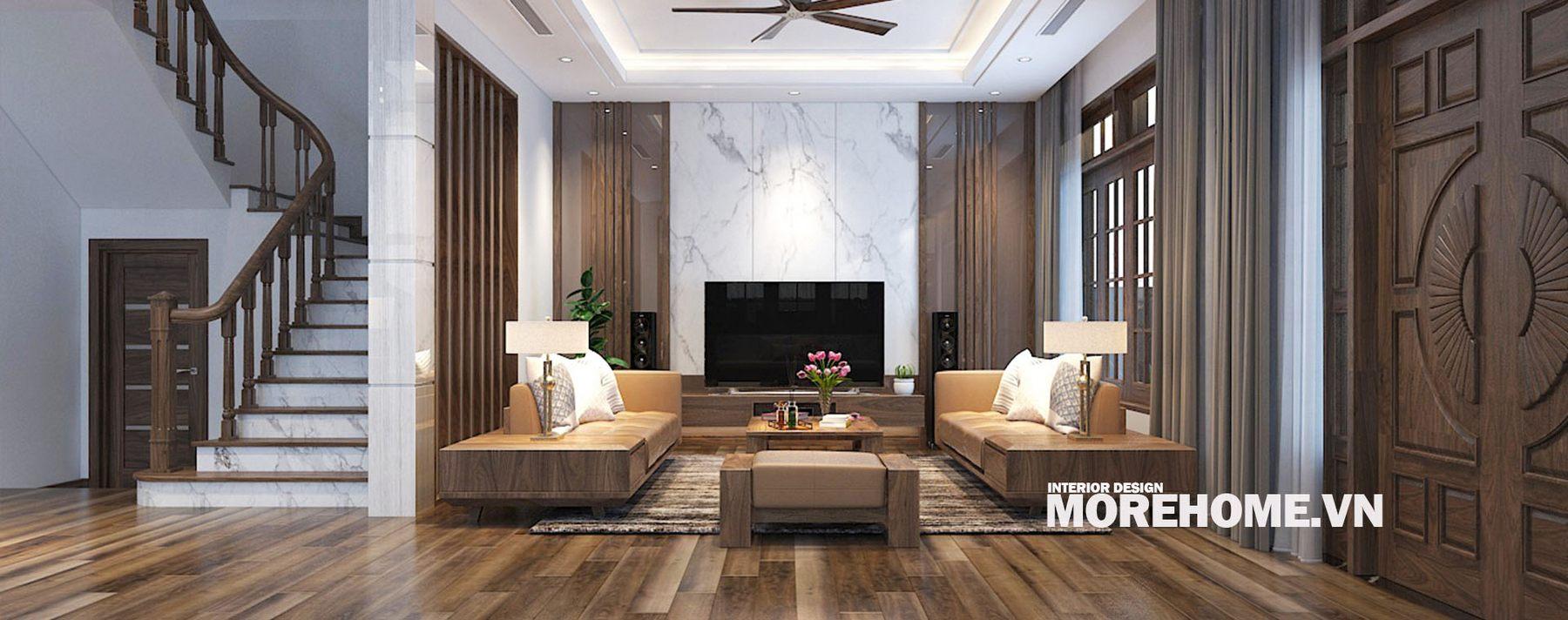Thiết kế nội thất biệt thự An Hưng Hà Đông