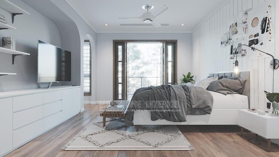 Thiết kế nội thất biệt thự phố Hà Tĩnh