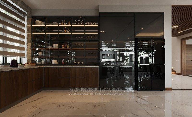 Thiết kế nội thất biệt thự hải dương phong cách hiện đại
