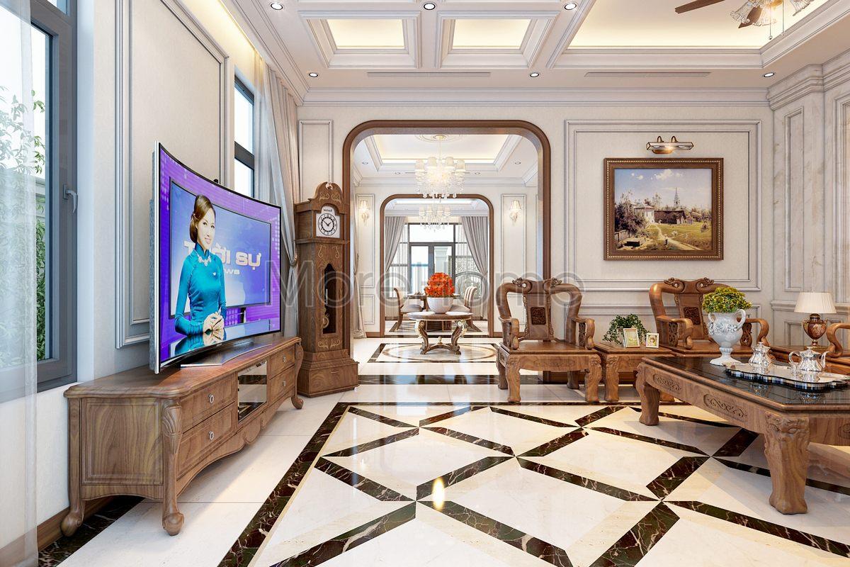Thiết kế nội thất biệt thự lakeview quận 2