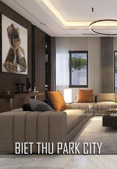 Thiết kế nội thất biệt thự cao cấp hiện đại tại Park City
