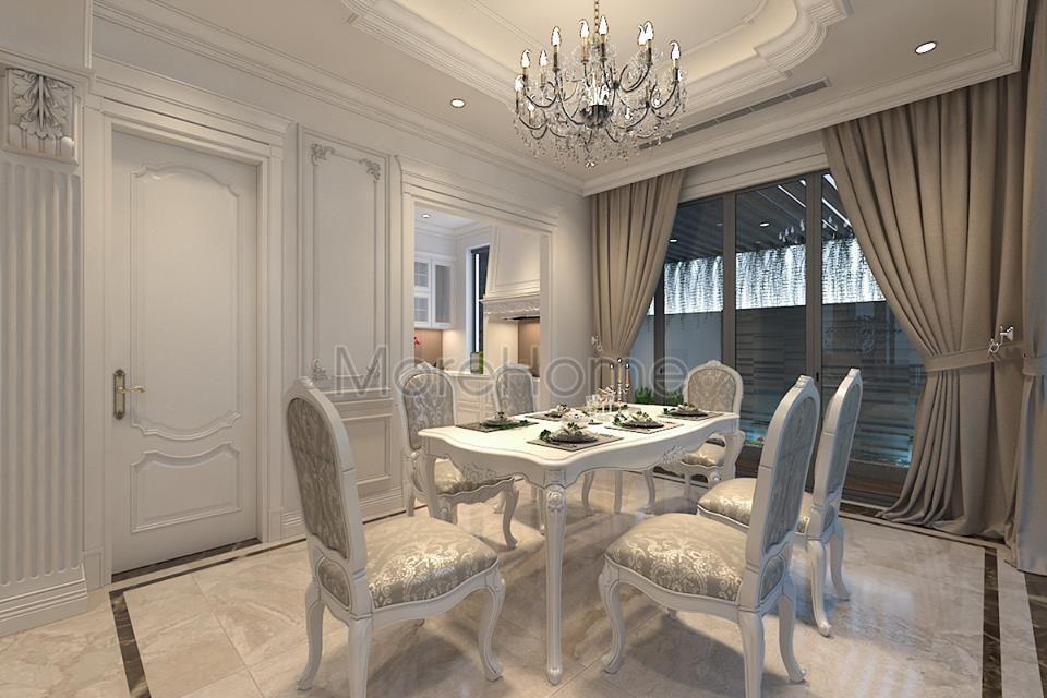 nội thất phòng ăn biệt thự cao cấp Imperia Garden