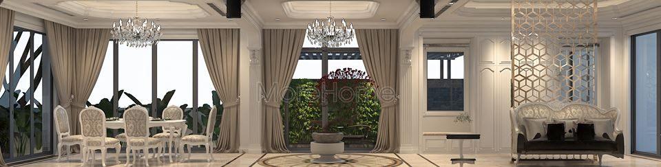 thiết kế biệt thự cao cấp Imperia Garden