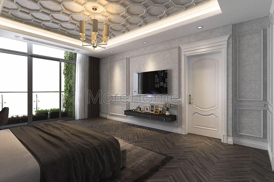 Thiết kế nội thất biệt thự tân cổ điển cao cấp Imperia Garden