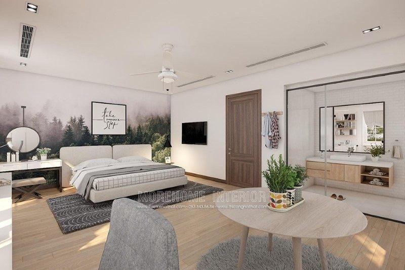 Thiết kế nội thất biệt thự hiện đại đẹp tại Vinhomes Riverside