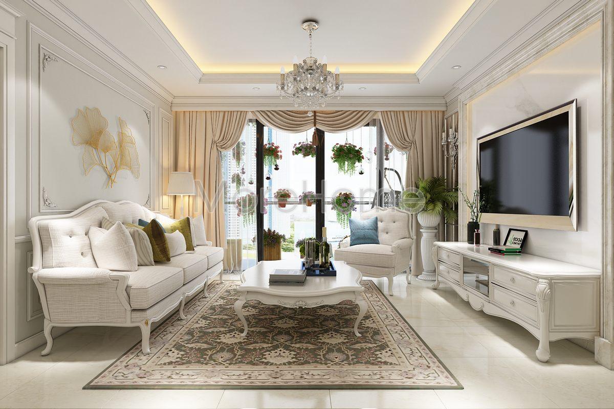 Thiết kế nội thất căn hộ đảo kim cương quận 2