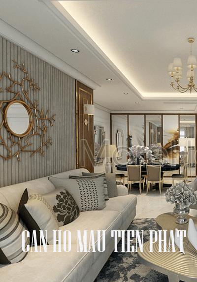 Thiết kế căn hộ mẫu - Dự án Tiến Phát