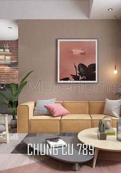 Thiết kế nội thất căn hộ chung cư 789 trẻ trung, cá tính
