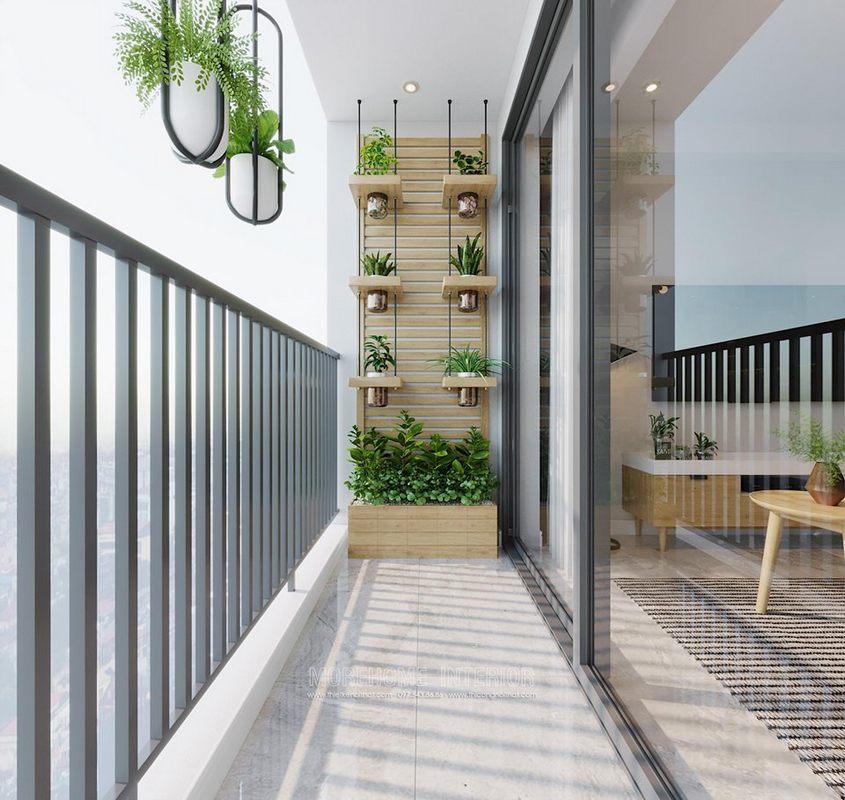 Thiết kế ban công cho chung cư D'capitale