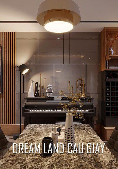 Thiết kế nội thất chung cư hiện đại tại DreamLand Cầu Giấy