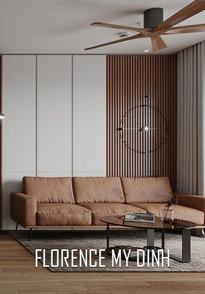 Thiết kế nội thất chung cư hiện đại tại Florence Mỹ Đình