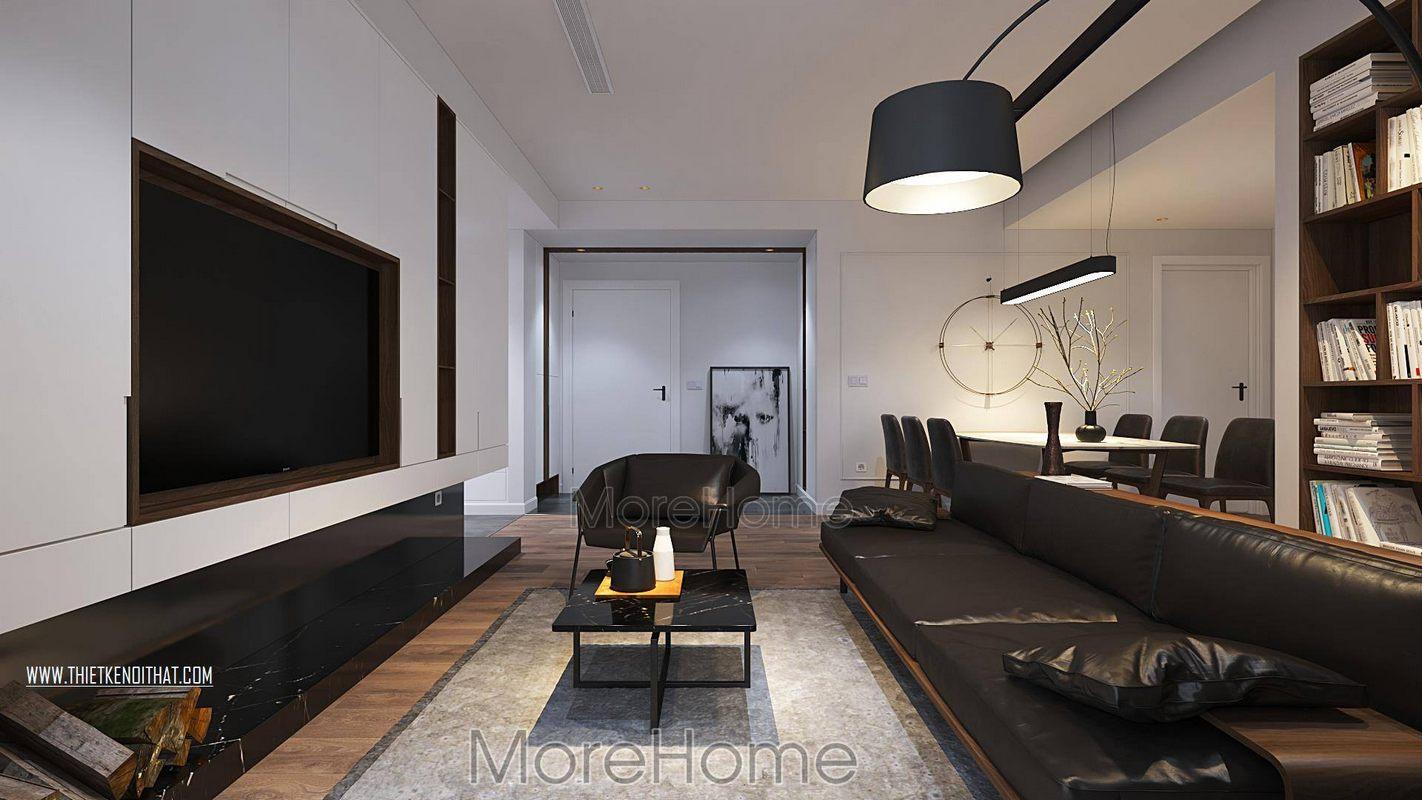 Thiết kế nội thất chung cư green bay nam từ liêm hà nội