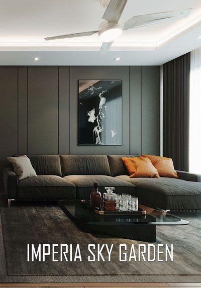 Thiết kế nội thất chung cư Imperia Sky Garden Minh Khai đẹp, hiện đại