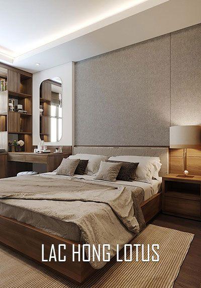 Thiết kế nội thất chung cư hiện đại sang trọng Lạc Hồng Lotus