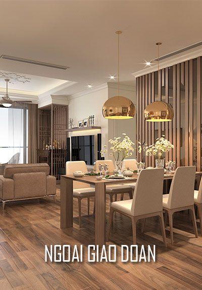 Thiết kế nội thất chung cư Ngoai Giao Đoàn đẹp và cao cấp - Anh Trâm