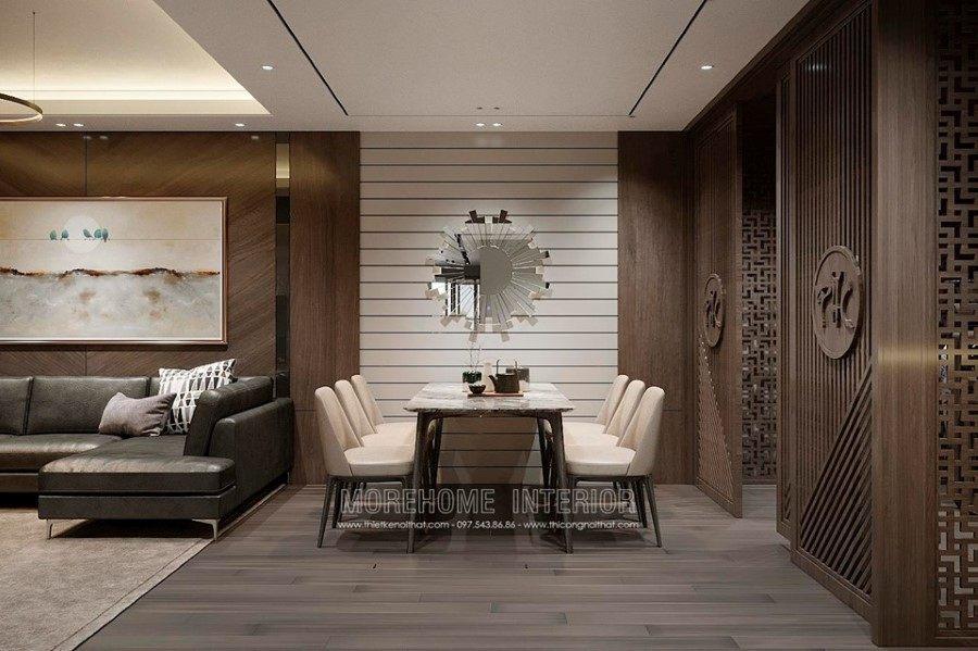 Thiết kế nội thất chung cư sông Đà
