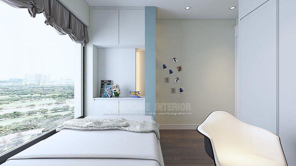 Thiết kế nội thất phòng ngủ chung cư times city quận hai bà trưng hà nội
