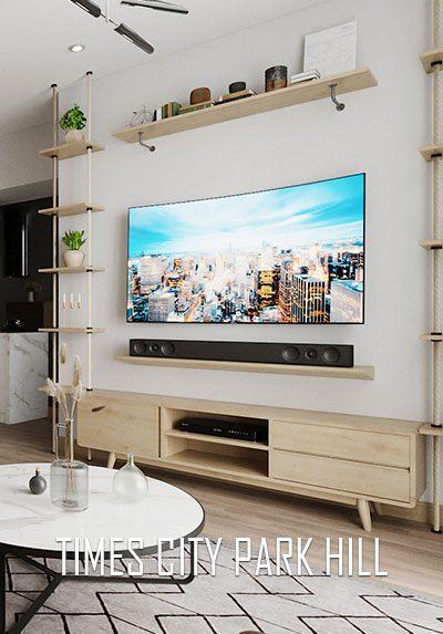Thiết kế nội thất chung cư hiện đại đẹp tại Times City Park Hill Hà Nội.