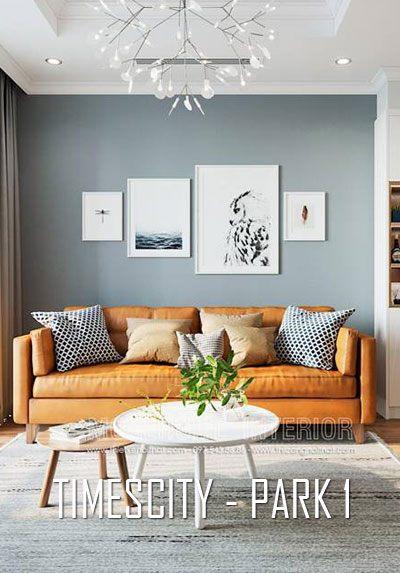 Thiết kế nội thất chung cư Times City Park 1 - phong cách hiện đại sáng tạo
