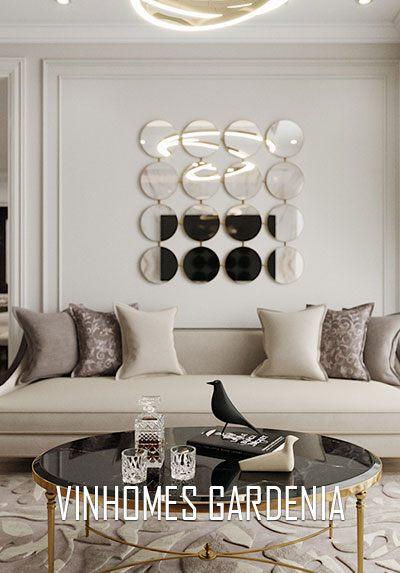 Thiết kế nội thất chung cư Vinhomes Gardenia phong cách đương đại